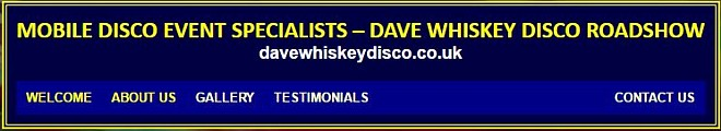 Dave Whiskey Disco